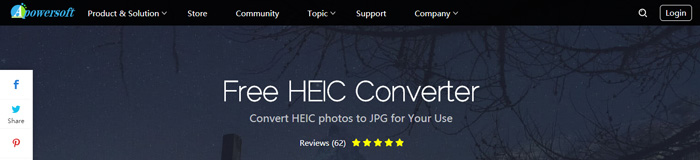 Convert images from HEIC to JPG with Apowersoft HEIC Converter