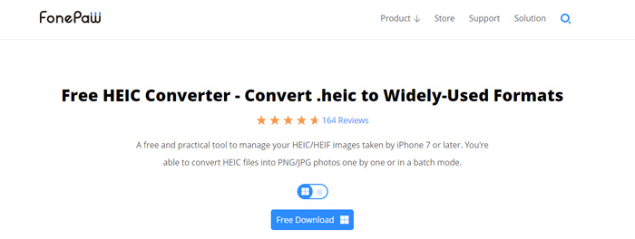 Change HEIC to JPG or PNG with FonePaw HEIC Converter