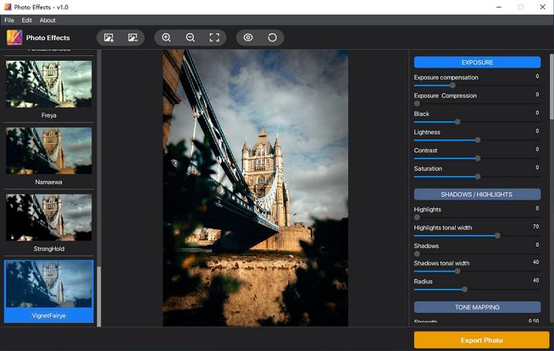 Photo Effects full screenshot